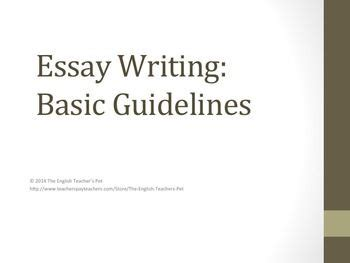 How to write a one page thesis statement